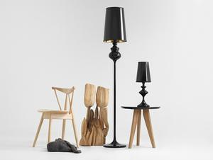 AMBER FLOOR stojací lampa - černá small 2