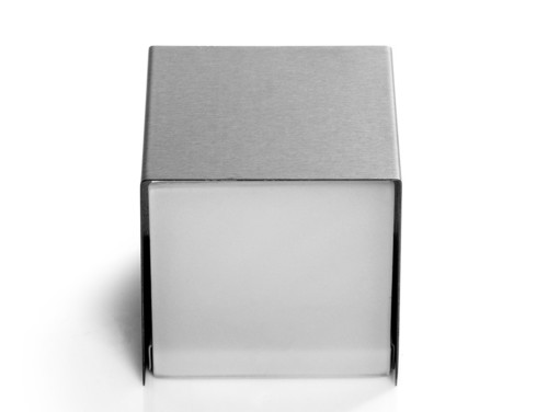 Nástěnná lampa URBAN - stříbrná
