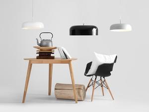 Závěsná lampa OW L - bílá small 1