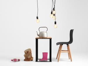 Závěsná lampa SPINNE 5 - černá small 2