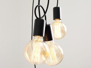 Závěsná lampa SPINNE 5 - černá small 4