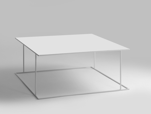 Konferenční stolek WALT METAL 100x100