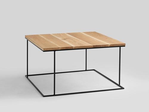 WALT SOLID WOOD 100x100 konferenční stolek