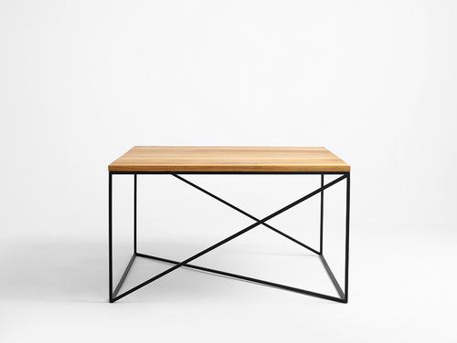 Konferenční stolek MEMO SOLID WOOD 100x100