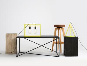 Konferenční stolek MEMO METAL 100x60 small 2