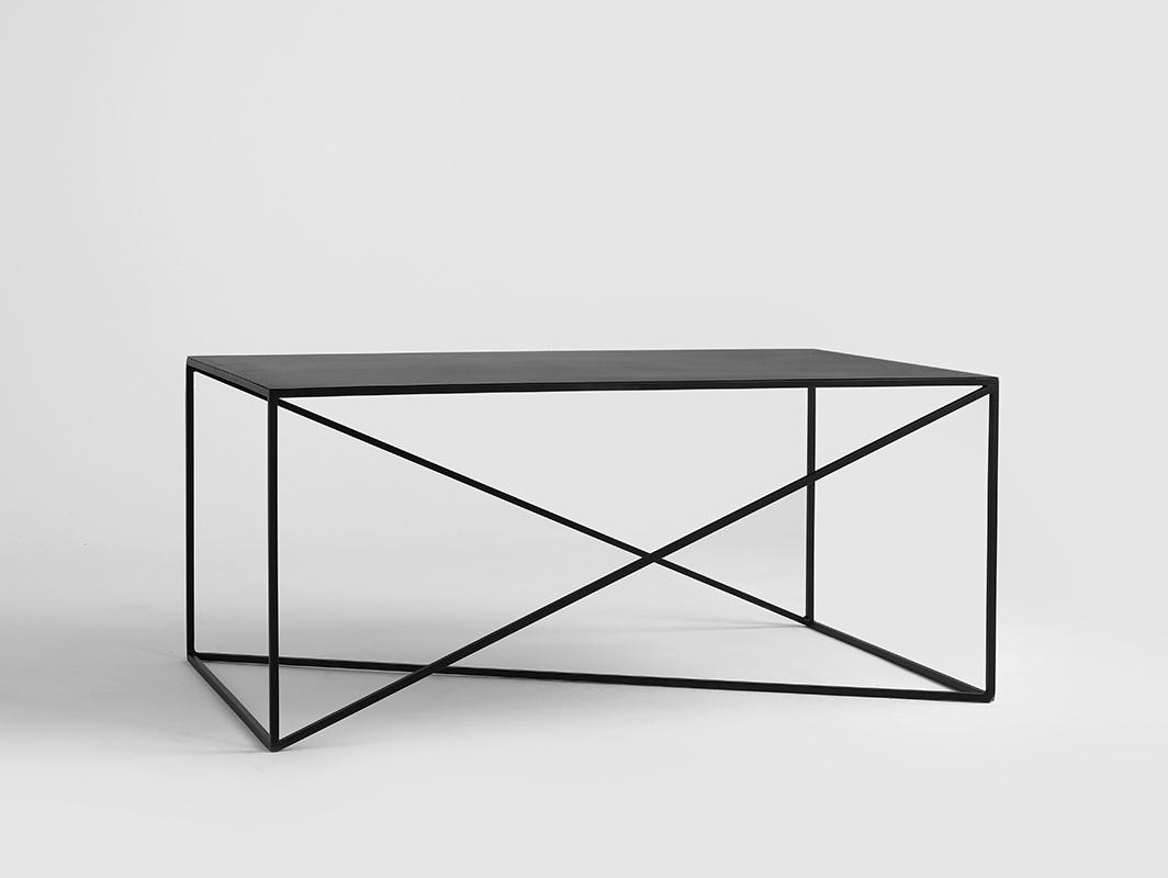 Konferenční stolek MEMO METAL 100x60