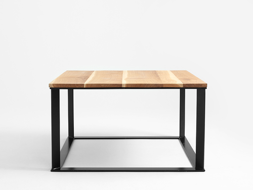 Konferenční stolek SKADEN SOLID WOOD 100x100