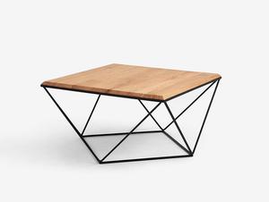 Konferenční stolek DARYL SOLID WOOD 80 small 0