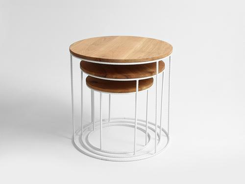 Konferenční stolek TRIOS SOLID WOOD