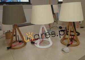 Stolní lampa Konan dąb / antracit / antracit E27 25W small 1