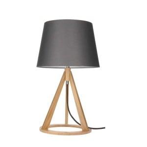 Stolní lampa Konan dąb / antracit / antracit E27 25W small 0
