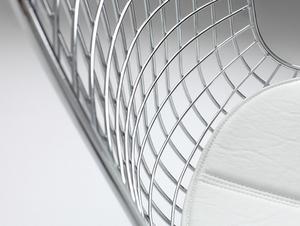Židle WIR - stříbrná small 3