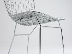 Židle WIR - stříbrná small 4
