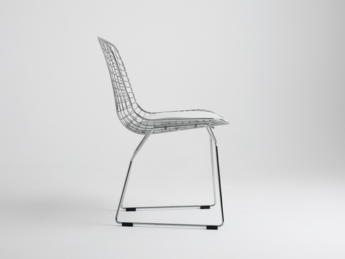 Židle WIR - stříbrná