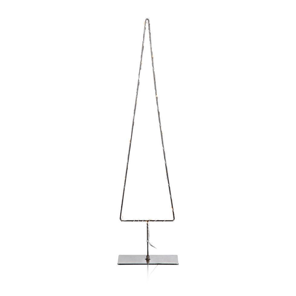 GRANGÅRDEN Kovový mini LED stromový stůl