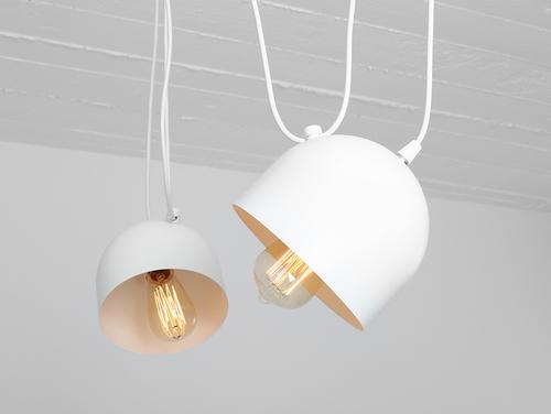 Závěsná lampa POPO 2 - bílá
