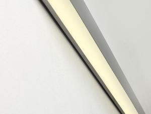 LINE WALL LED M nástěnná lampa - stříbrná small 4