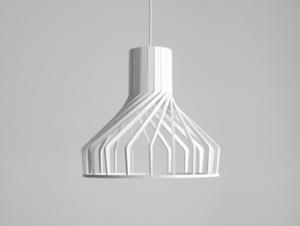 Závěsná lampa VEGA FAT - bílá small 2