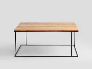 WALT SOLID WOOD 100x60 konferenční stolek small 3