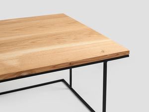 WALT SOLID WOOD 100x60 konferenční stolek small 4