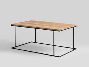WALT SOLID WOOD 100x60 konferenční stolek small 0