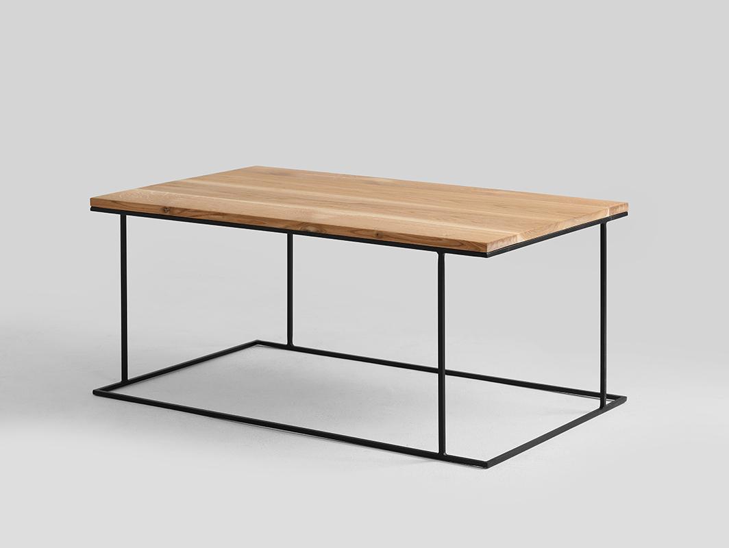 WALT SOLID WOOD 100x60 konferenční stolek