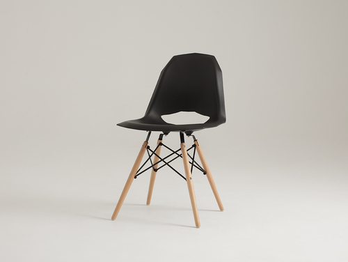 Židle WOOD WOOD - černá