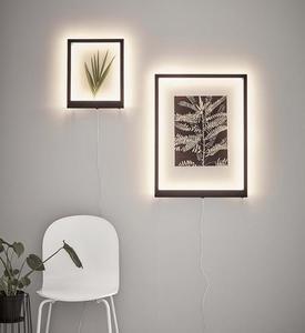 FRAME Nástěnná nástěnná svítidla 70x50cm černá small 1