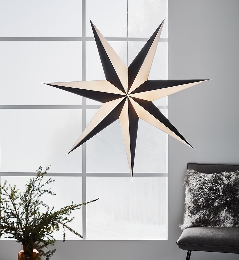ALVA Star přívěsek 1m černobílý