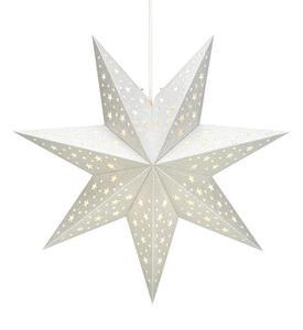 SOLVALLA přívěsek hvězdný papír stříbrný small 1