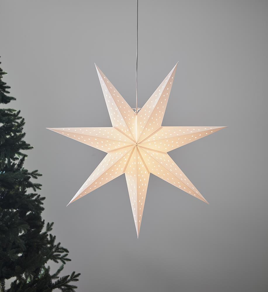 CLARA přívěsek bílá hvězda 75cm