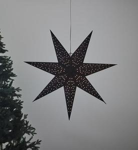CLARA přívěsek Star 75 Black small 0