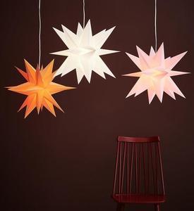 Skillinge 3D paper star Pink small 1