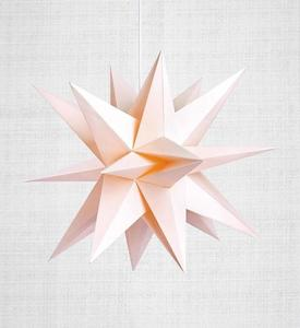 Skillinge 3D paper star Pink small 0