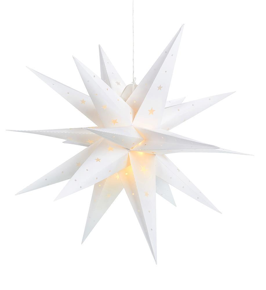 VECTRA 3D plastové hvězdy 60 cm IP44
