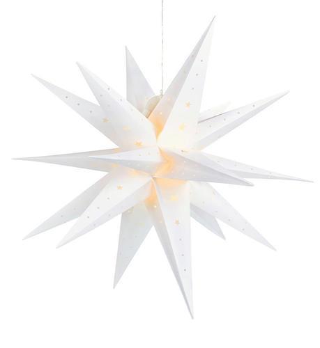 VECTRA 3D plastové hvězdy 80 cm IP44