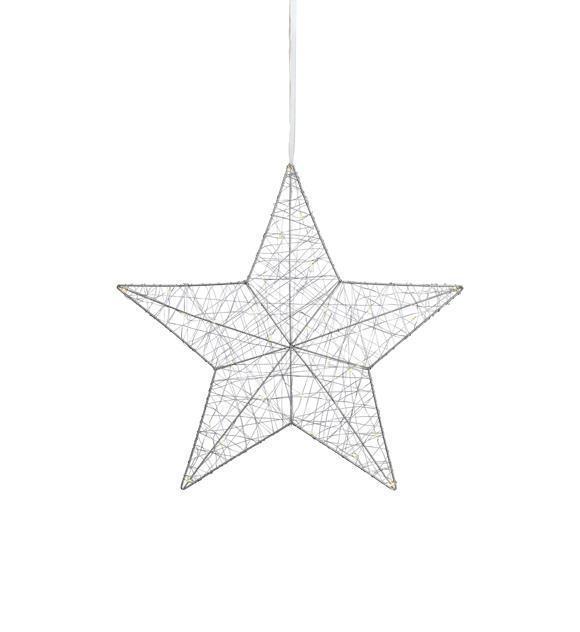 ARTHUR Star Přívěsek Stříbrný 50cm