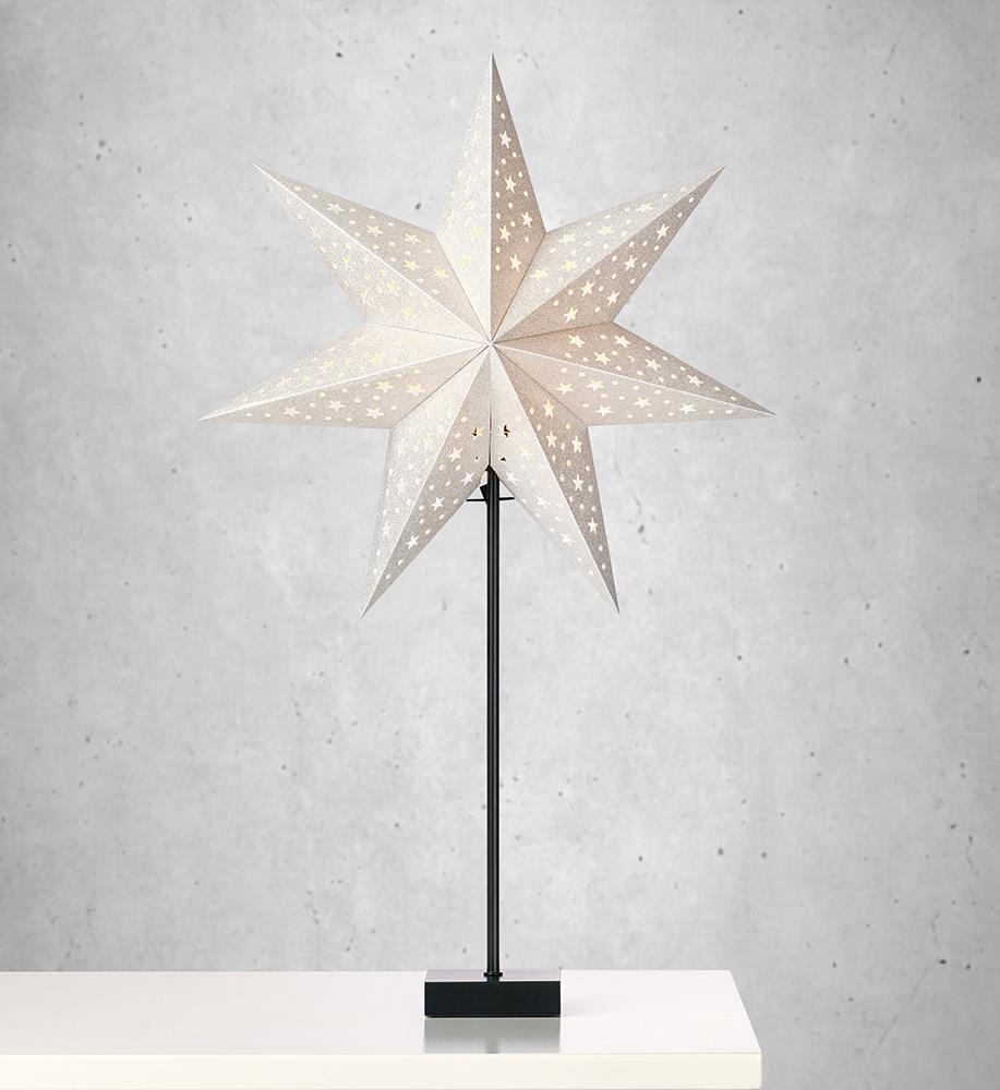 Solvalla Tablestar 69 cm stříbrná