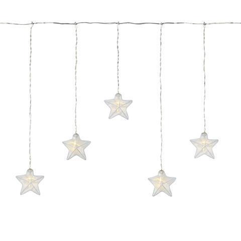 ISABELLA Icicle LED bílá hvězda