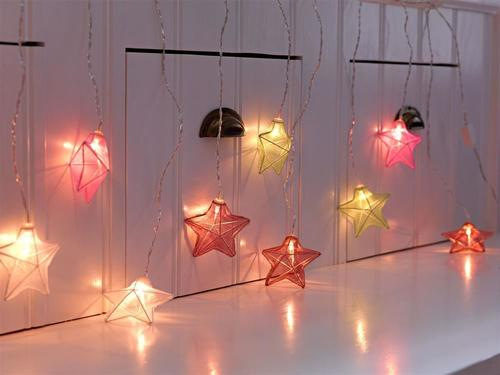 ISABELLA Icicle Star LED Multicolor