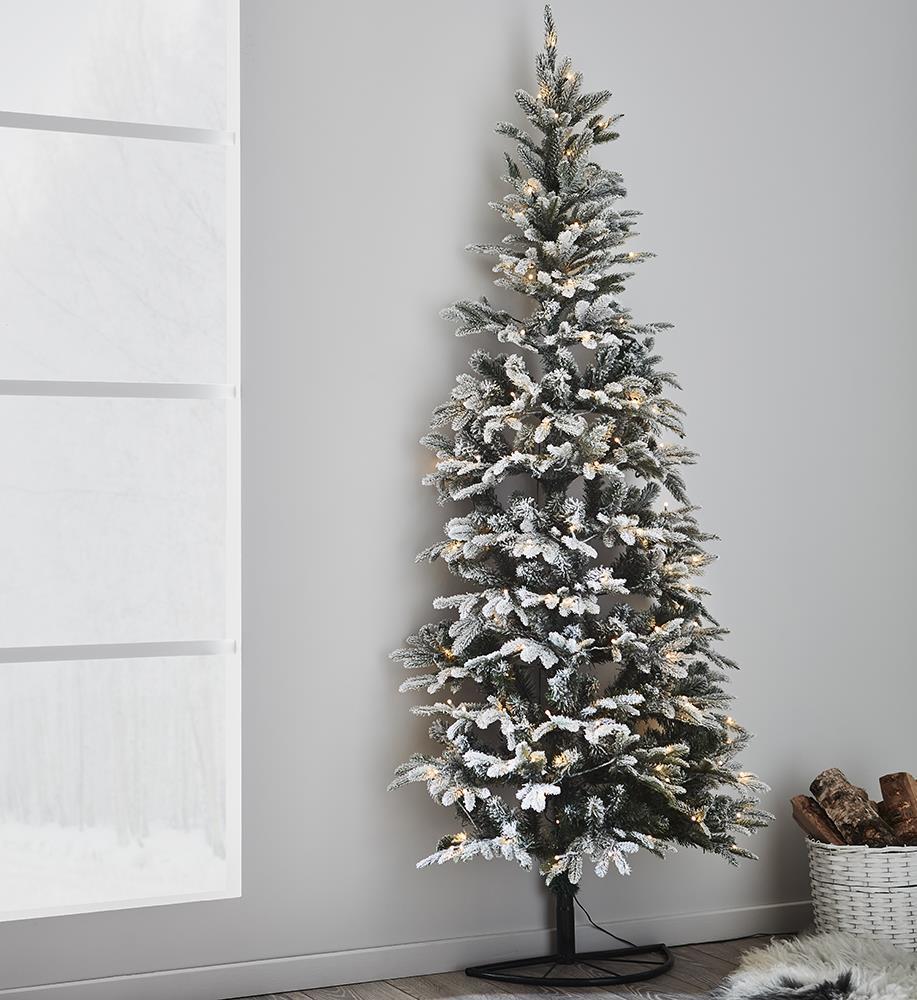 Markslojd GRANLUND Zasněžený zelený vánoční strom 120L 210 cm x 80 cm