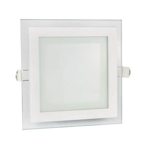 Vodiče Eco Led Square 230 V 6 W Ip20 Ww Stropní sklo Eye
