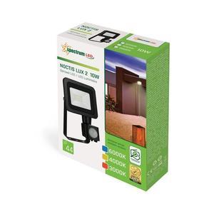 Noctis Lux 2 Smd 230 V 10 W Ip44 Cw černá se senzorem small 1