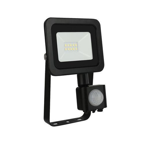 Noctis Lux 2 Smd 230 V 10 W Ip44 Cw černá se senzorem