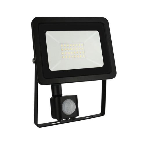 Noctis Lux 2 Smd 230 V 30 W Ip44 Cw černý se senzorem