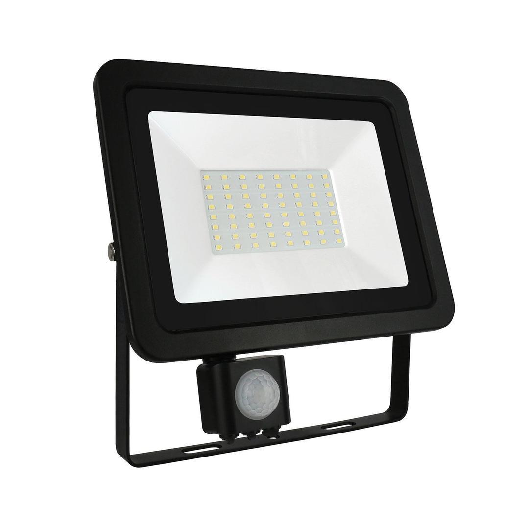 Noctis Lux 2 Smd 230 V 50 W Ip44 Cw černá se senzorem