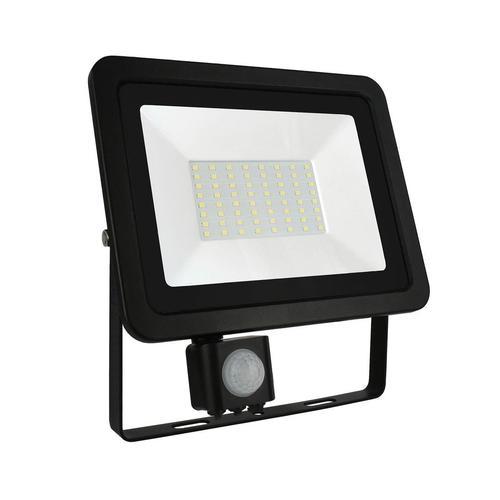 Noctis Lux 2 Smd 230 V 50 W Ip44 Nw černý se senzorem