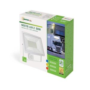 Noctis Lux 2 Smd 230 V 50 W Ip44 Nw bílá se senzorem small 1