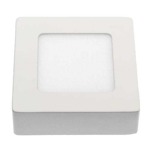 Algine Eco Led Square 230 V 6 W Ip20 Cw Stropní WHITE povrchová rámová konstrukce