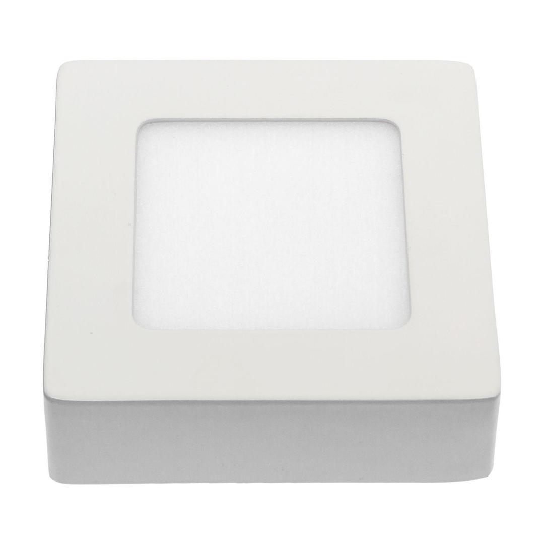 Algine Eco Led Square 230 V 6 W Ip20 Ww Strop WHITE Rámeček povrchu